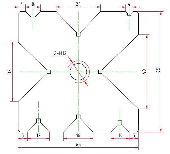 Стандартная матрица WC67K 63/2500